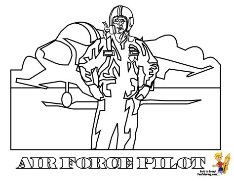Air Force Coloring Pages Coloring Pages