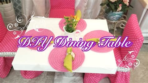 diy american girl doll dining table youtube