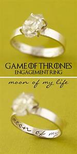game of thrones engagement ring quotmoon of my lifequot with With game of thrones wedding rings