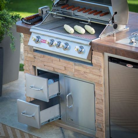 outdoor grill with sink bull outdoor products bbq island with 4 burner angus gas