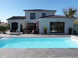 villa contemporaine 4 ch 8 pers piscine a mallemort With location villa aix en provence piscine 0 location magnifique villa contemporaine avec piscine pour