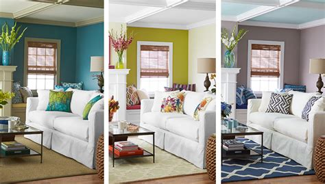 different living room themes 1 room 3 dramatic color palettes