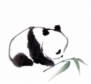 Super cute ink drawing of a Panda. | Teaching, Learning ...