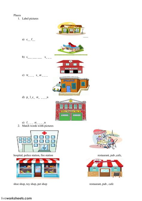 places   city interactive  downloadable worksheet