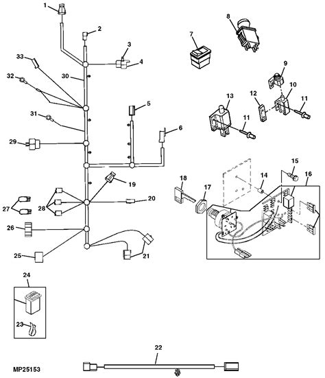 wiring diagram for deere x485 furthermore wiring