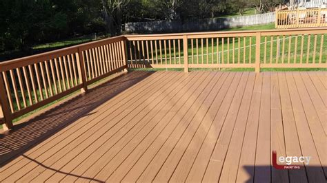 plainfield solid color deck staining legacy painting