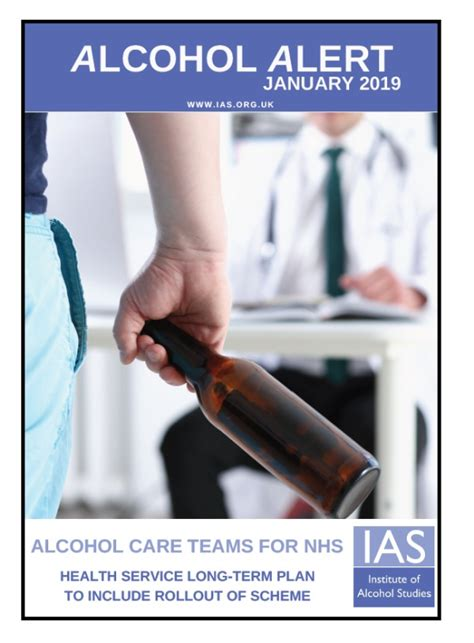 ias alert january  alcohol care teams dementia