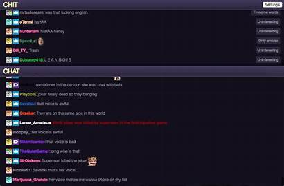 Chat Twitch Viewer Streamers Viewers Created Interesting