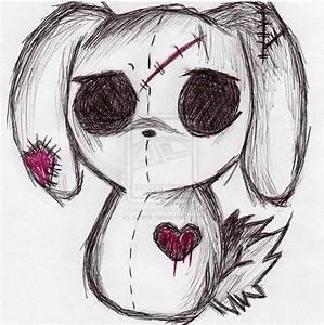 Drawn dall creepy - Pencil and in color drawn dall creepy