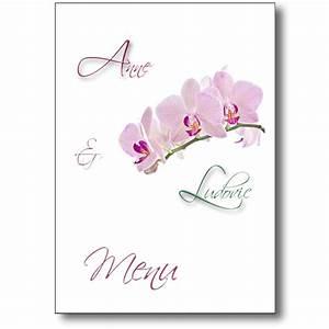 Faire Part Anniversaire Pas Cher : menu branche d 39 orchid e coordonn votre faire part mariage ~ Edinachiropracticcenter.com Idées de Décoration