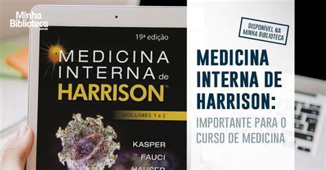 Medicina Interna Harrison - medicina interna de harrison saiba mais sobre esse livro