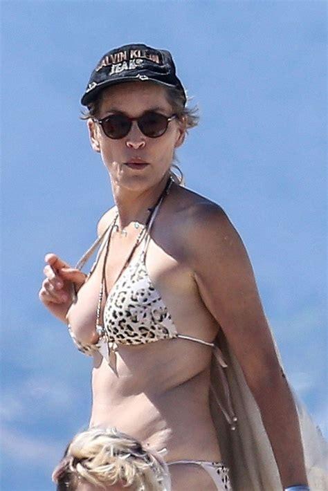 Sharon Stone Tit Slip 82 Photos Thefappening
