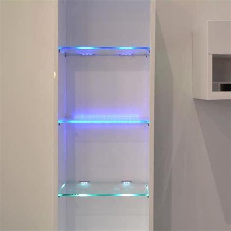 LED Under Cabinet Lights Kit for Glass Edge Shelf Back
