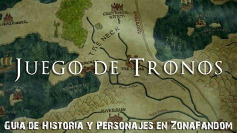 'juego De Tronos', Guía De Historia Y Personajes