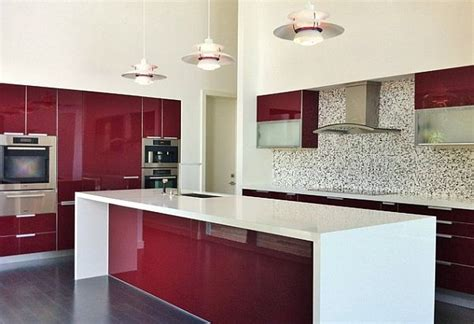 new modular kitchen designs ابيض وعودي بالمطبخ الجديد المرسال 3523