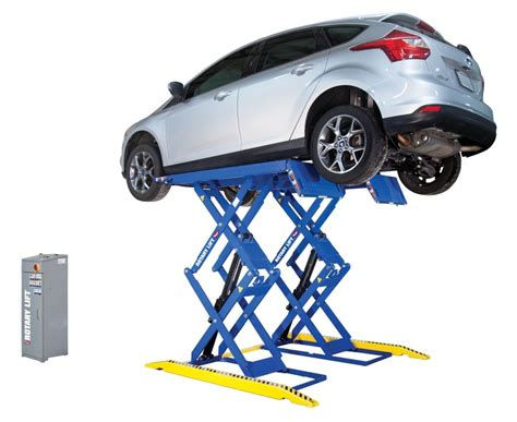 Rotary Lift Launches Low-profile Double-section Scissor Lift