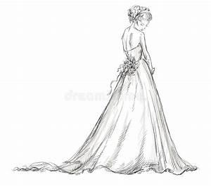 Schönes 10 Jähriges Mädchen : braut sch nes junges m dchen in einem hochzeitskleid vektor abbildung illustration von ~ Yasmunasinghe.com Haus und Dekorationen