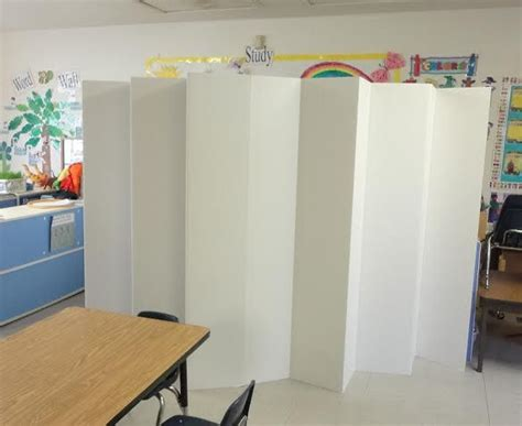 cardboard privacy screens for desks double sided white 5 5ft cardboard room dividers great