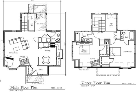 Cottage Homes Floor Plans by Storybook Homes The Cottage Floor Plans