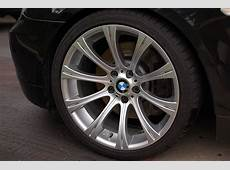 USED authentic BMW E60 M5 style 166 19' rims and tires
