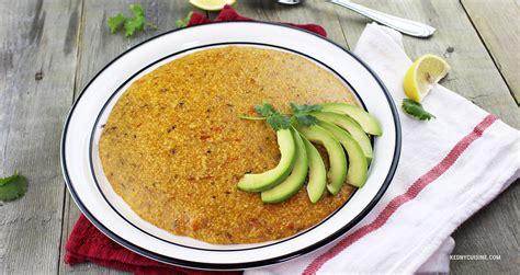 mais cuisine maïs moulu au hareng saur kedny cuisine