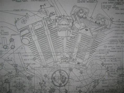 inspiring frame blueprints photo 49 best images about harley davidson engine blueprint