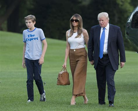Barron Trump Starts School, Just 30 Minutes Away From His ...