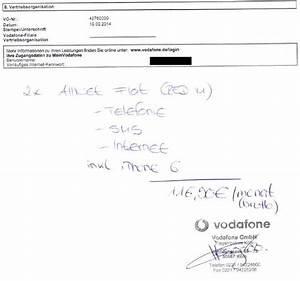 Meine Vodafone Rechnung : ich beging den fehler meines lebens ich unterschrieb und ~ Themetempest.com Abrechnung
