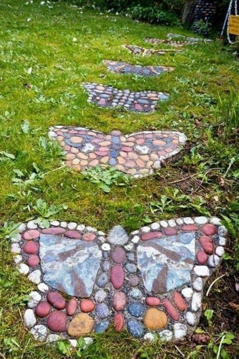 gartendekoration selber machen gartendekoration selber machen mosaik schmetterlinge urban