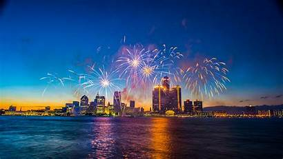 Michigan Fireworks Detroit July Fourth Friday Untitled