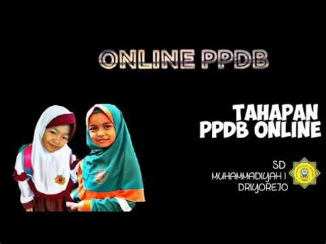 Calon peserta didik berusia maksimal 15 tahun pada tanggal 1 juli tahun berjalan. Cara Daftar Online | PPDB Online MUDR1 2020 - YouTube