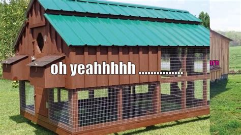 build  hen house chicken coop plans youtube