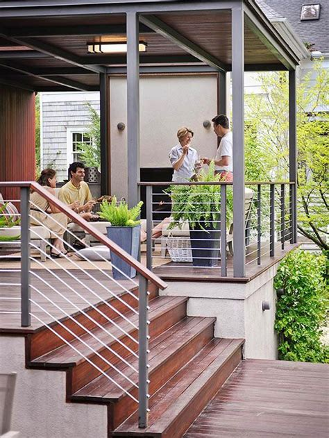 Design Your Own Deck Home Depot by The 25 Best Deck Railings Ideas On Cable Deck