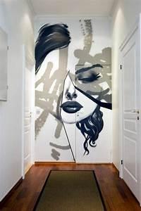 Pochoir Peinture Murale : 1001 id es pour votre peinture murale originale ~ Premium-room.com Idées de Décoration