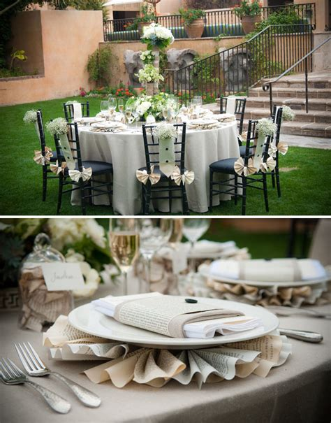 decoration a essai mariage inspired by paper books green wedding shoes wedding wedding trends for stylish