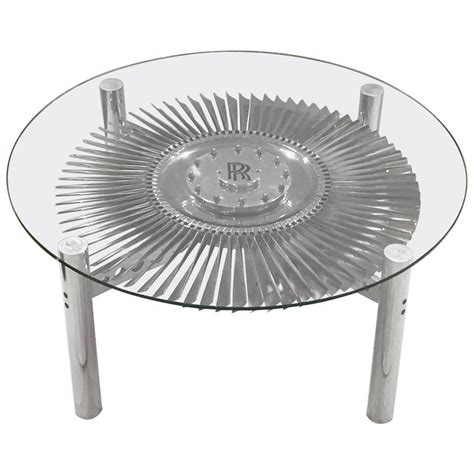 Rolls Royce Jet Engine Impeller Low Table From England At