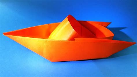 How To Make A Paper Boat That Floats And Holds Weight Step By Step by How To Make A Paper Boat That Floats Origami Boat My