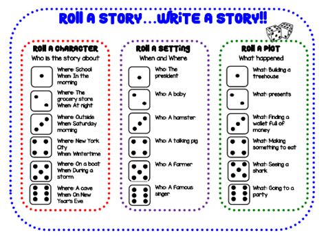 roll  storywrite  story