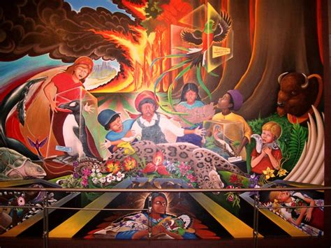 Denver Airport Murals Conspiracy Debunked by The Denver International Airport Conspiracy