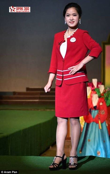 Inside the North Korean fashion show which features clothing from the 1960s | Daily Mail Online