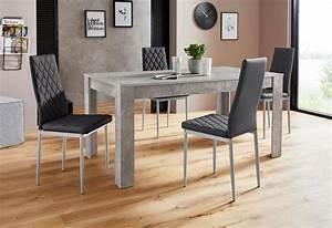 Tisch Mit Stühlen : essgruppe lynn160 brooke tisch mit 4 st hlen otto ~ Orissabook.com Haus und Dekorationen