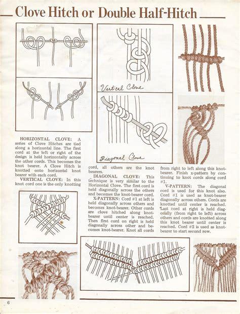 primer  macrame knots  macrame reference book
