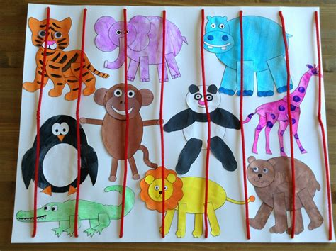 zoo craft using printables from learncreatelove 252 | a5e0a001adc457c90b6ca4376eca0c35