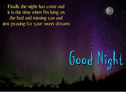 Night Come Finally Goodnight Cards Card General