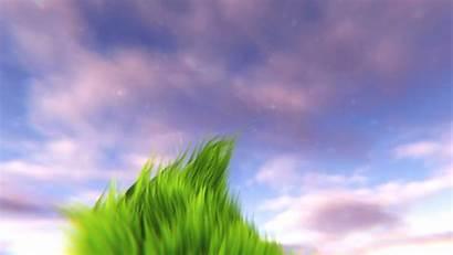 Animated Animation Grass Desktop Scene Wallpapers Minecraft