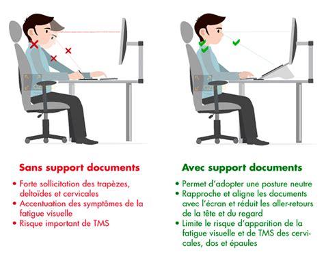bureau doc support de documents quels bénéfices sur ma posture