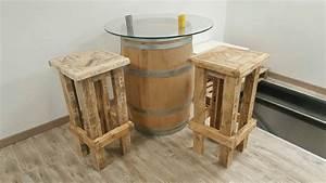 Bar En Bois : bar en palette bois yf26 jornalagora ~ Teatrodelosmanantiales.com Idées de Décoration