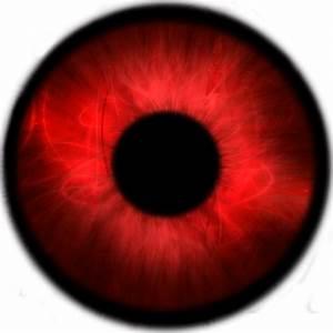 Red glowing eyes png