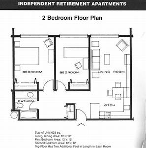 Small 2 Bedroom Apartment Plans