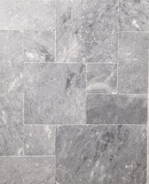 gray travertine tile brand new product premium pearl grey limestone french pattern tumbled unfilled